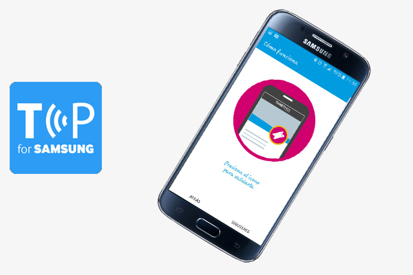 Nace la app Ticket Pass For Samsung