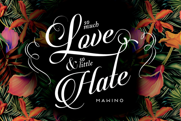 Mawino – So much love, so little hate (Rock Indiana, 2016)