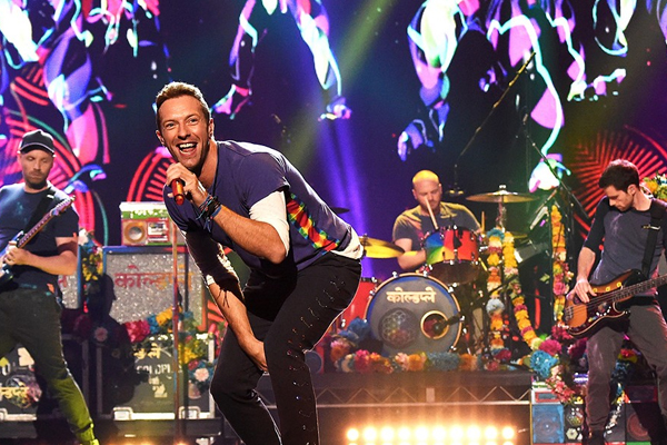 Coldplay ganan el Ticket Of The Year 2016