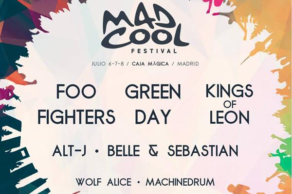 Nuevas confirmaciones para el Mad Cool 2017