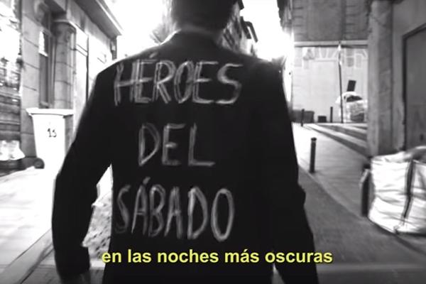"""""""Héroes del sábado"""", el nuevo vídeo de La M.O.D.A."""