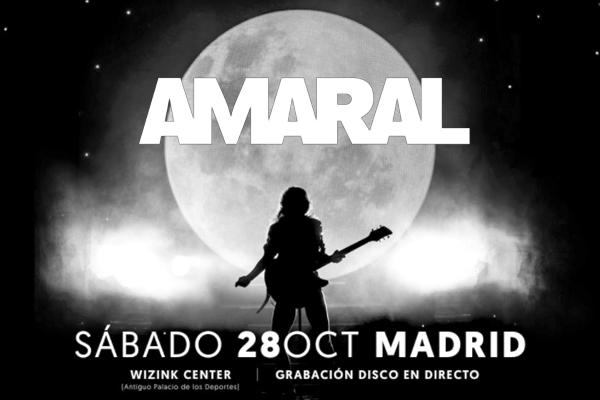 Amaral grabarán en directo su concierto fin de gira