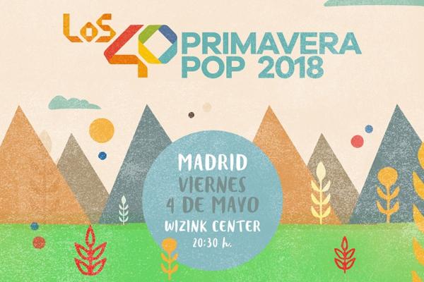 Los40 llevan el Primavera Pop a Madrid, Barcelona y Málaga