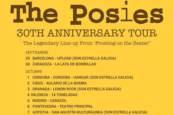 The Posies celebran su 30 cumpleaños con una gira por España