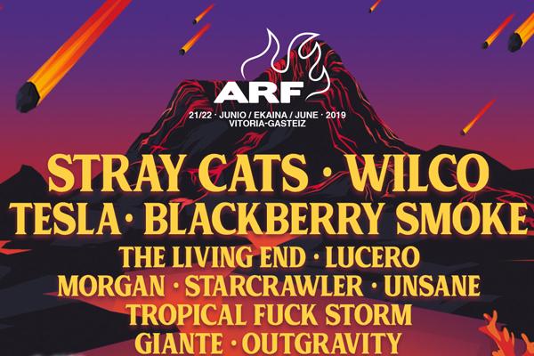 Stray Cats, Tesla y Blackberry Smoke entre los primeros nombres del Azkena Rock Festival 2019
