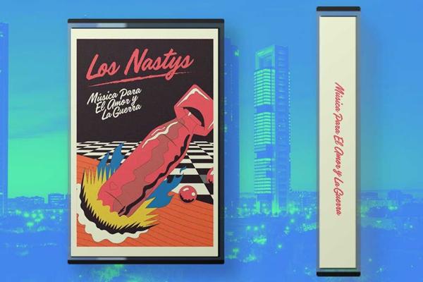 Los Nastys sacan nuevo disco… ¡en cassette!