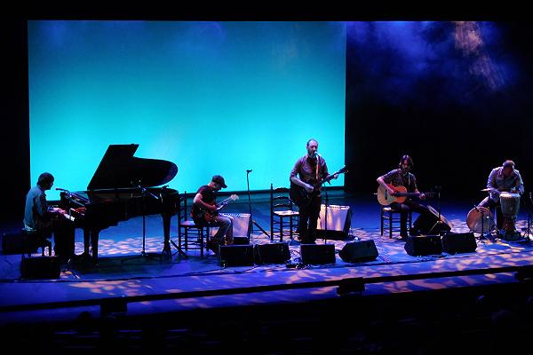 Jota y Florent (Los Planetas) se ponen flamencos en el Fernán Gómez