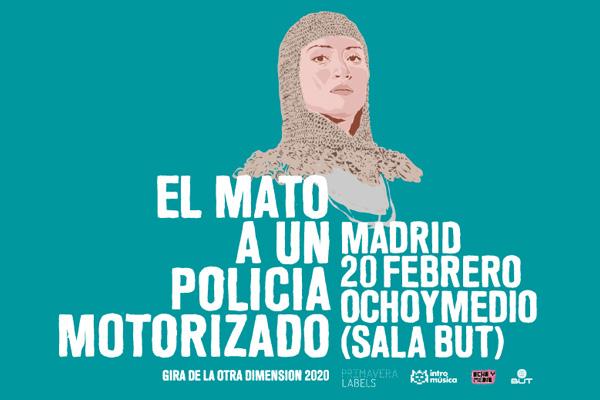 Nueva gira española de El Mató a un Policía Motorizado