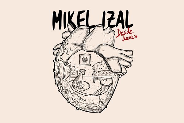 """Mikel Izal publica """"Desde dentro"""", álbum digital benéfico a favor de los Bancos de Alimentos"""