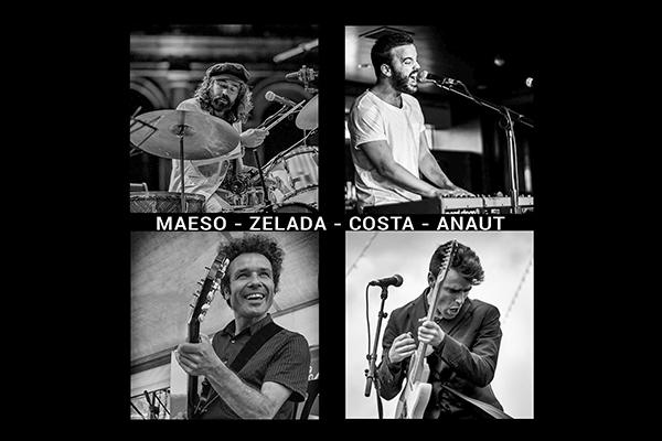Maeso, Zelada, Costa y Anaut se van de gira