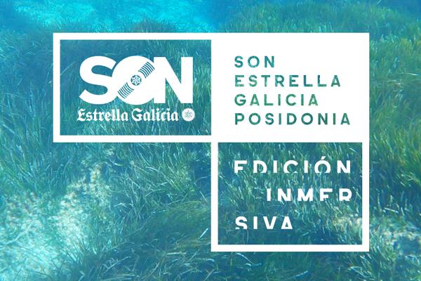 SON Estrella Galicia Posidonia 2020 se hace inmersivo
