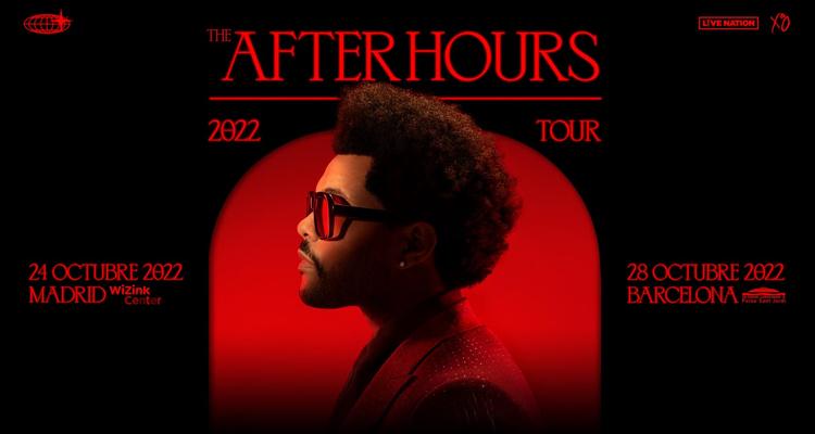 La gira mundial de The Weeknd pasará por España en 2022